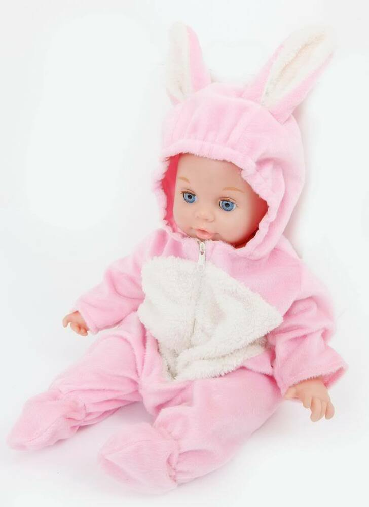 cf3ca47fbf49 Details about FRILLY LILY CUTE BUNNY ONESIE FOR DOLLS