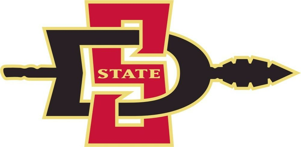 San Diego State Aztecs Ncaa College Vinyl Sticker Decal