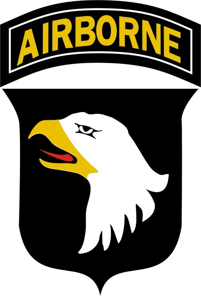 u s army 101st airborne division wall window vinyl decal