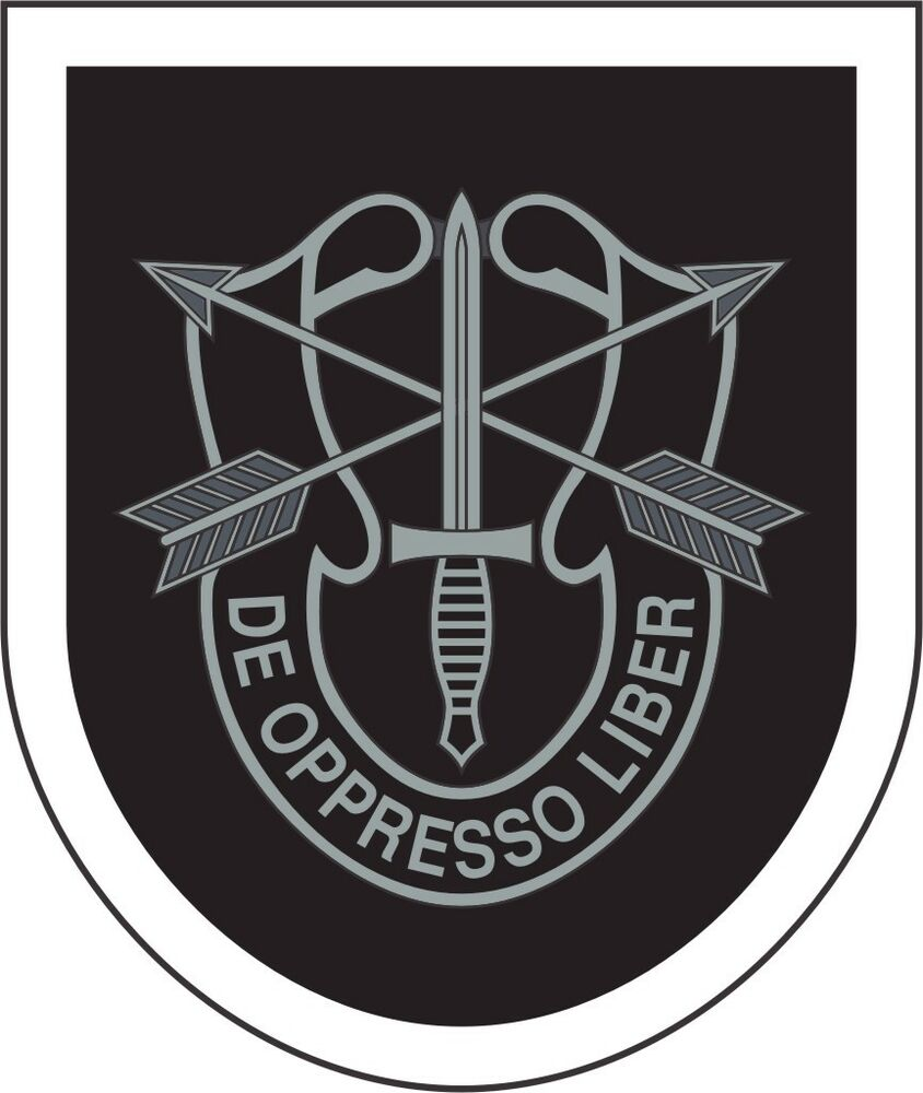 U S Army 5th Special Forces Group Wall Window Vinyl Decal