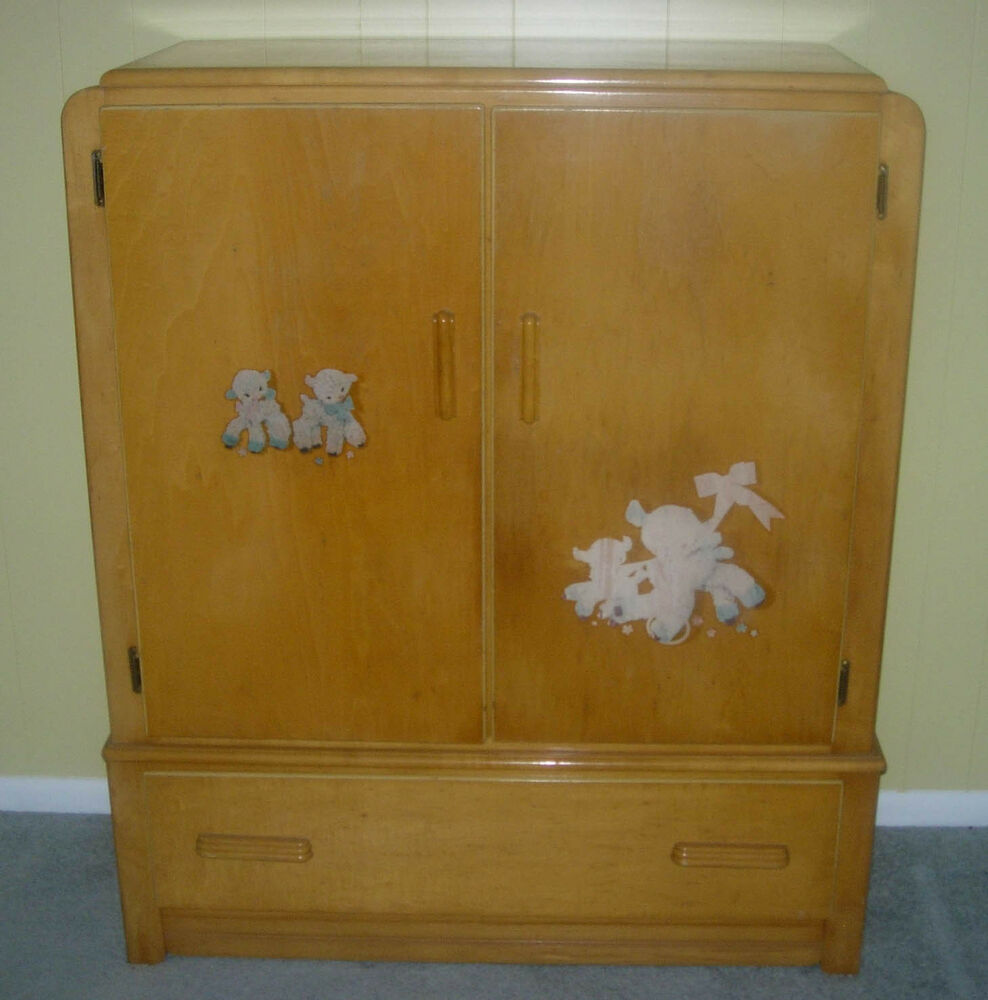 Vintage Art Deco Dresser Set