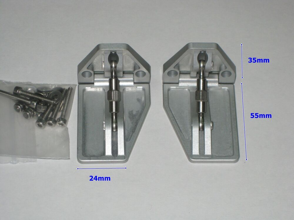 Trim Tabs For Fast Electric Rc Boat New Design Ebay