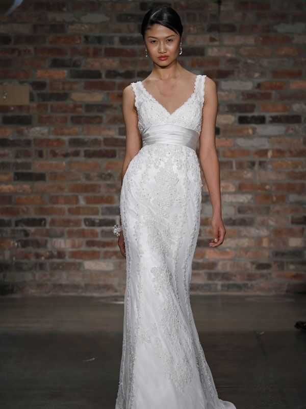 Jewel by priscilla of boston wedding gown size 2 ebay for Priscilla of boston wedding dresses