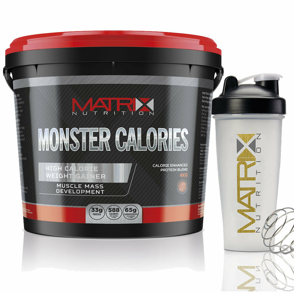 MATRIX MONSTER CALORIES ANABOLIC MASS PROTEIN WEIGHT