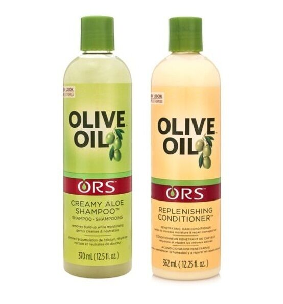 Olive oil shampoo and conditioner