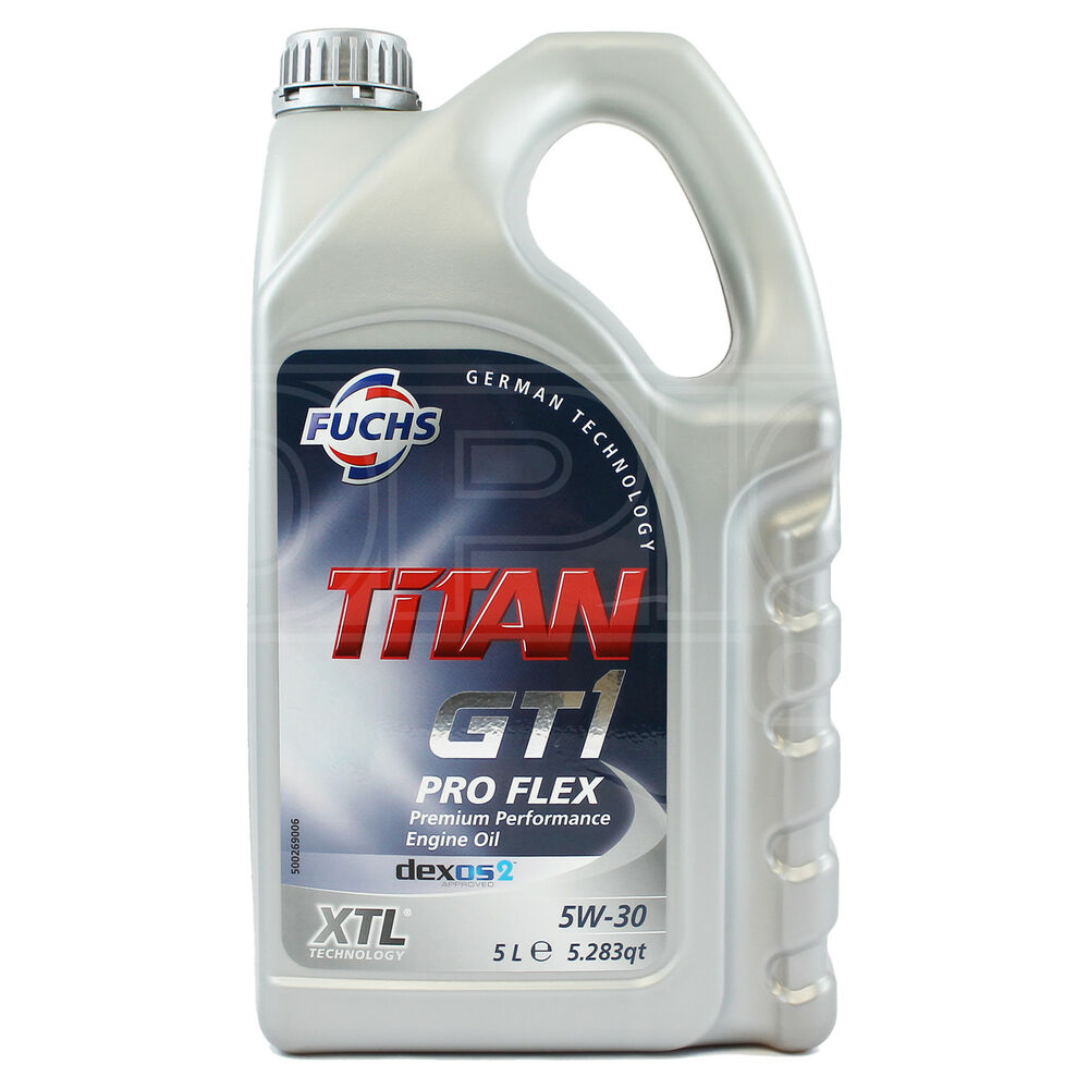 fuchs titan gt1 pro flex xtl 5w 30 engine oil 5w30 5. Black Bedroom Furniture Sets. Home Design Ideas