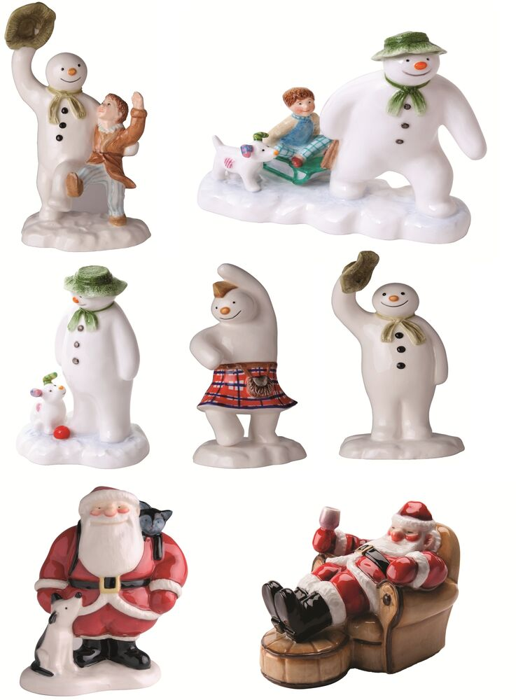 Beswick the snowman father christmas ceramic figurine