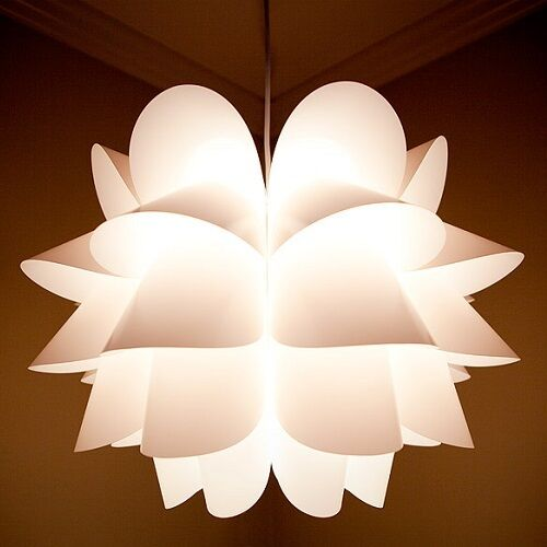 Nip Ikea Knappa Pendant Lamp White Ceiling Soft Mood Light
