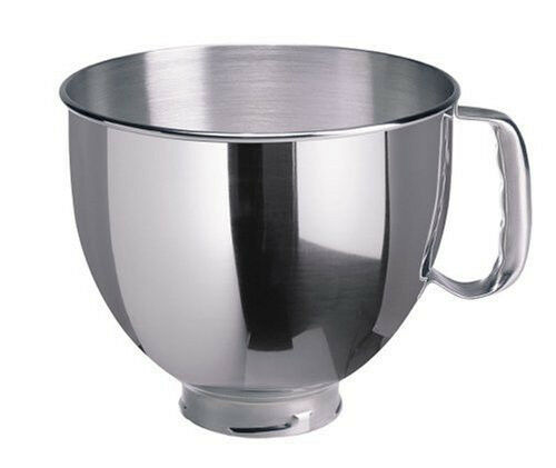 Kitchenaid 5 Quart Stainless Steel Replacement Bowl Fits