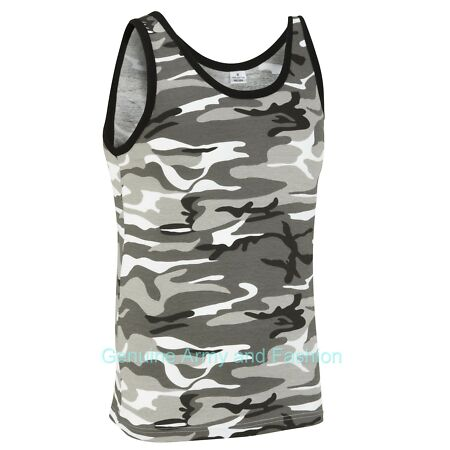 img-NEW US COMBAT URBAN CAMO ARMY SINGLETS SLEEVELESS VESTS TANK TOP FANCY DRESS