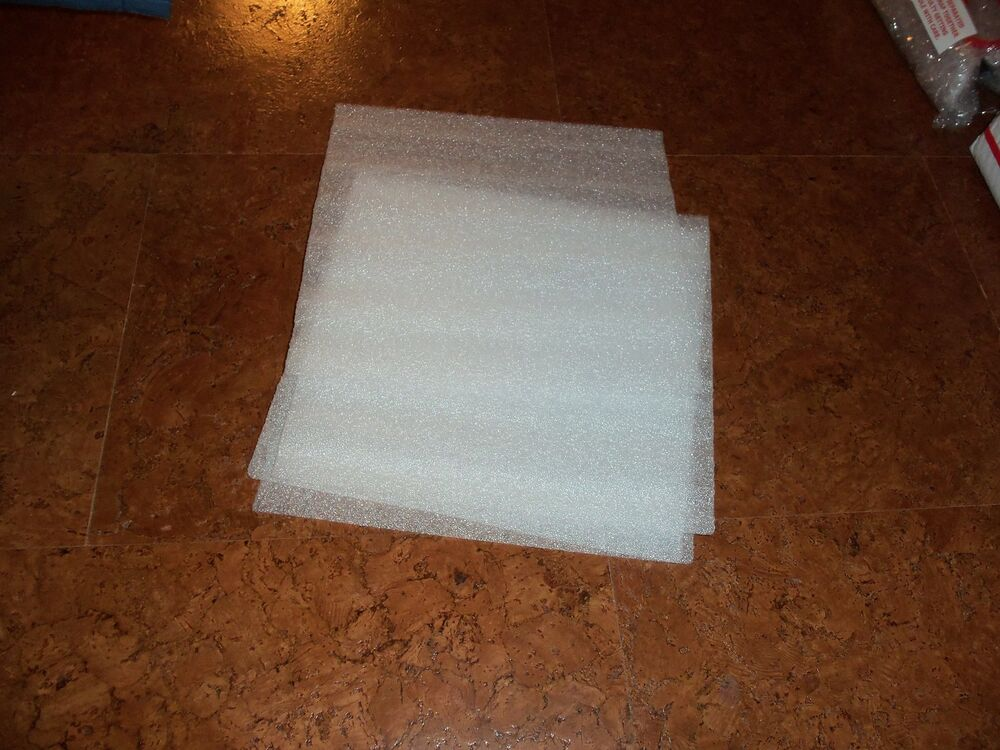 50 Brand New Free Ship White Foam Packing Sheets 12 Quot X12