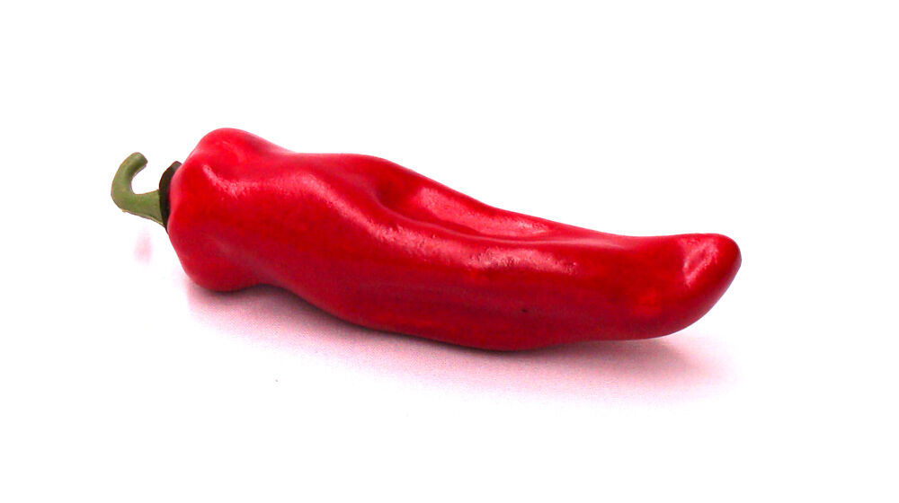 Artificial Chili Pepper Red Large Plastic Decorative Vegetable Peppers Fake Ebay