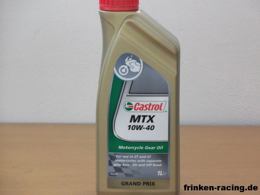 castrol mtx 10w 40 1 ltr getriebe l ebay. Black Bedroom Furniture Sets. Home Design Ideas