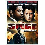 The Siege (DVD, 2007, Martial Law Edition; Sensormatic) Fast Shipping
