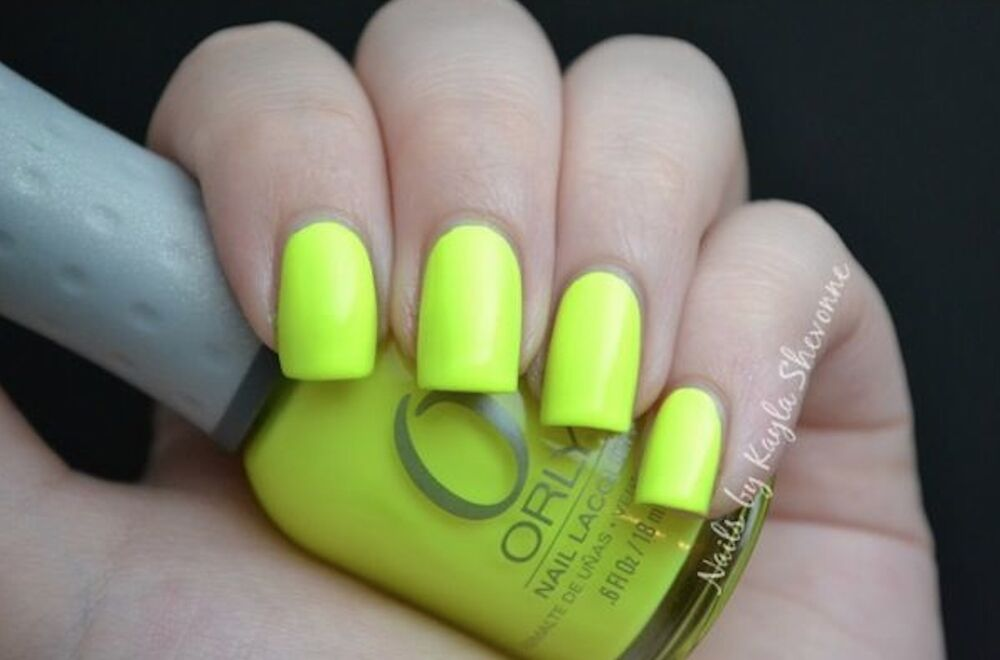 GLOWSTICK by: ORLY Full Size Nail Polish Head Turning Neon ...