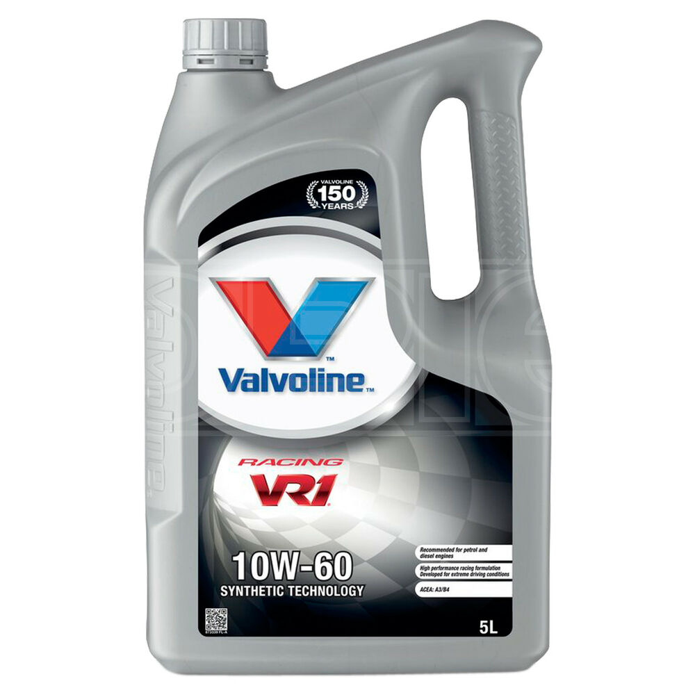 valvoline vr1 racing 10w 60 premium synthetic 10w60 engine