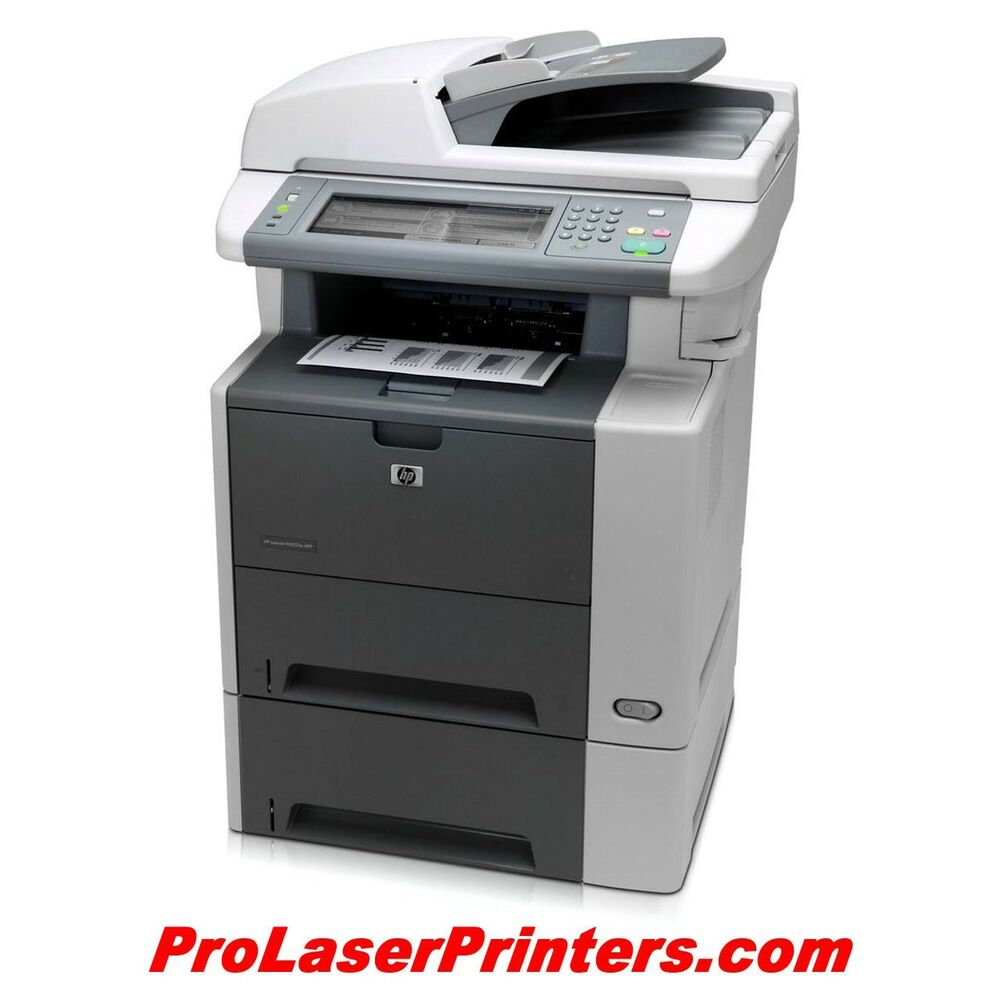 Hewlett-Packard LaserJet M3035xs MFP VALUE Laser Printer ...