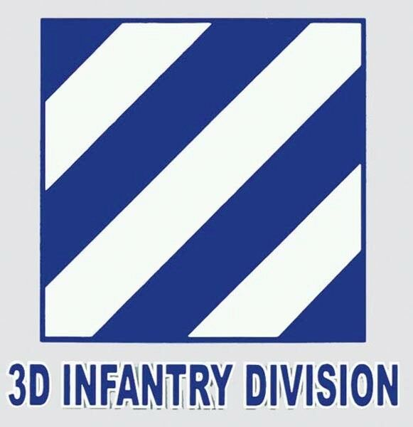 3rd infantry ision sticker made in usa us army window decal