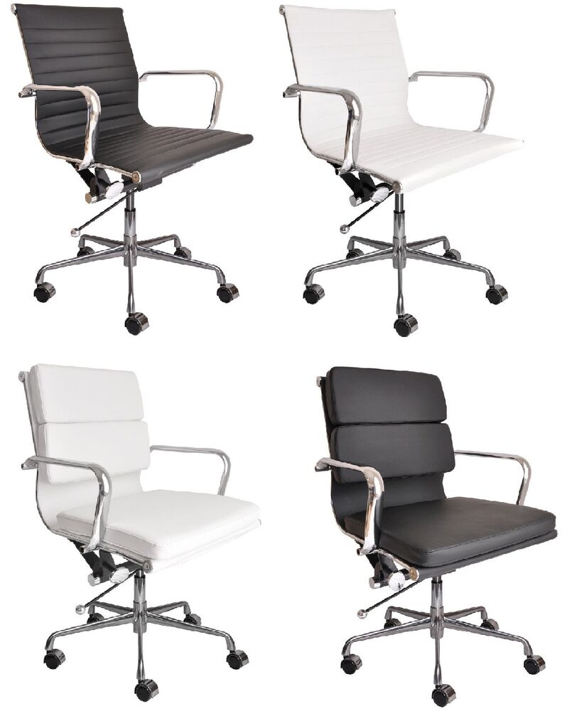 Eames style mid century modern office chairs brand new for Contemporary office chairs modern