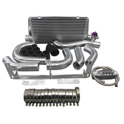 Ford Mustang Gt Supercharger Kit: CXRacing Front Mount Intercooler Kit For 96-04 Ford