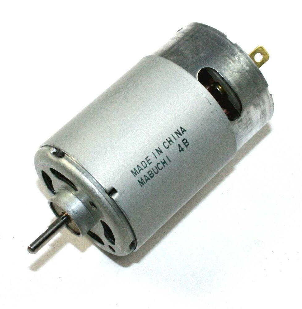 Mabuchi Rs 555ph 3255 12v Dc High Torque Motor 28m120