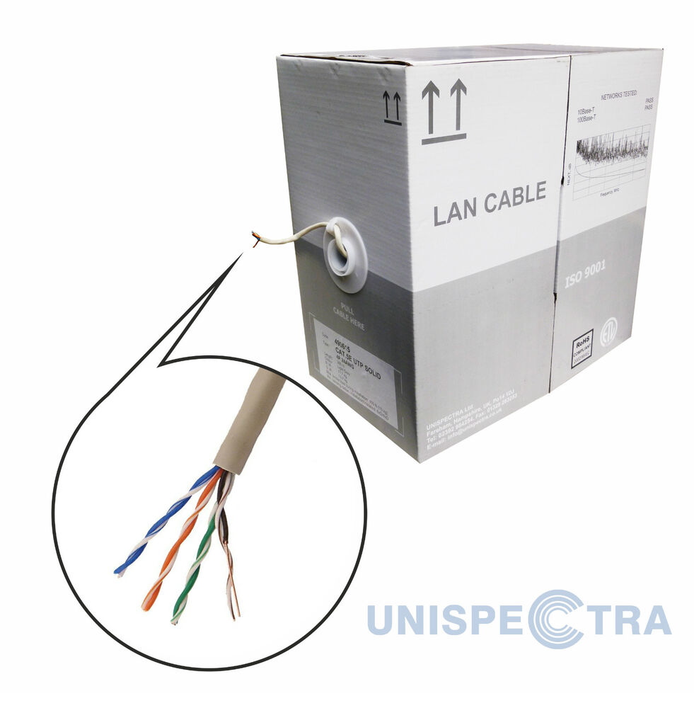 50M 150FT CAT7 UTP Networks LAN Direct Ethernet Cable CAT6A 10Gbps 26AWG LSZH