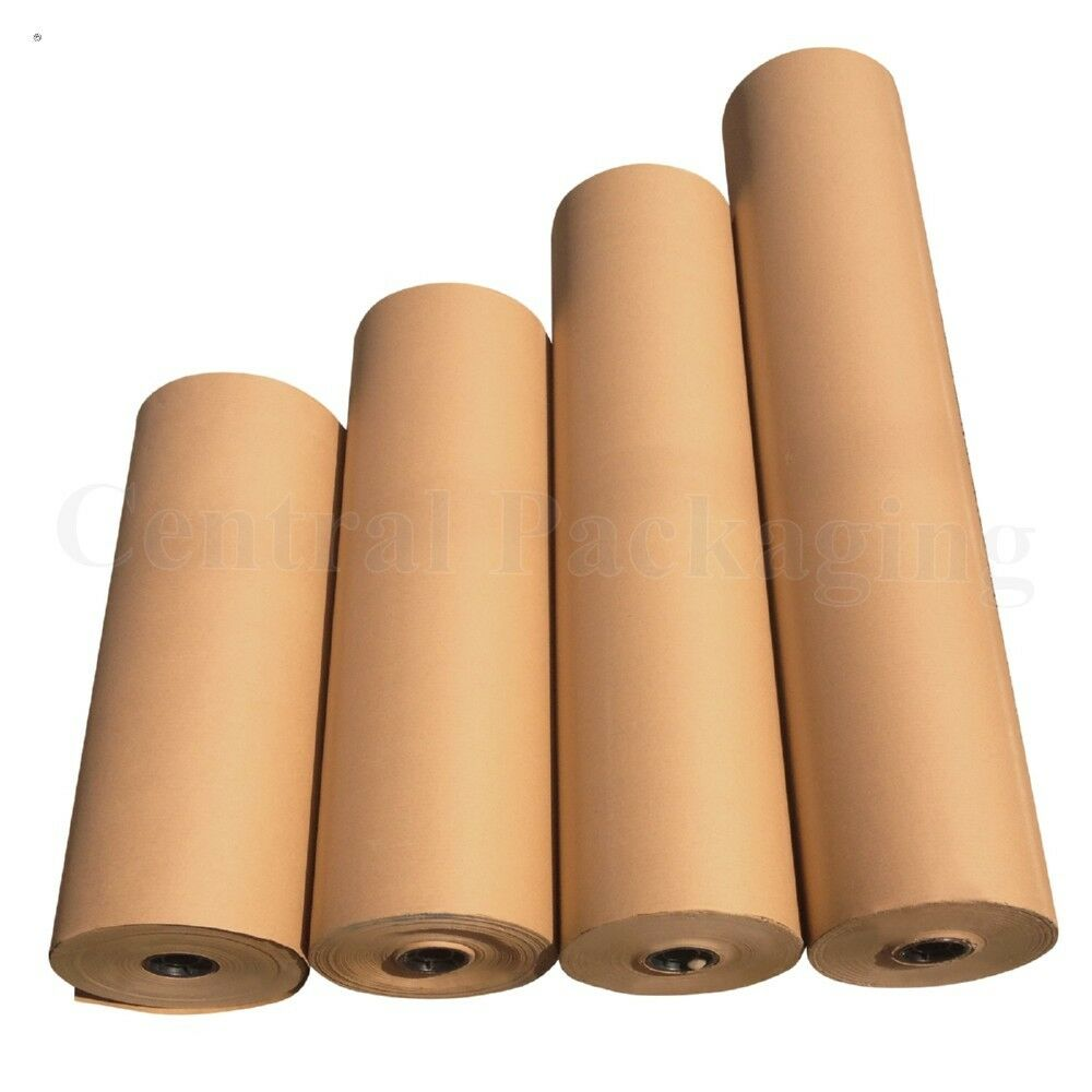 Brown kraft parcel paper for packing and wrapping parcels for Brown craft paper rolls