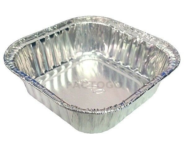 3 1 2 Quot Mini Square Aluminum Foil Cake Pan 4 Oz