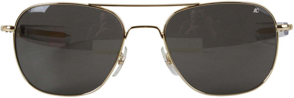 AO Eyewear Gold Aviators   Grey Lenses 8311ad18fee