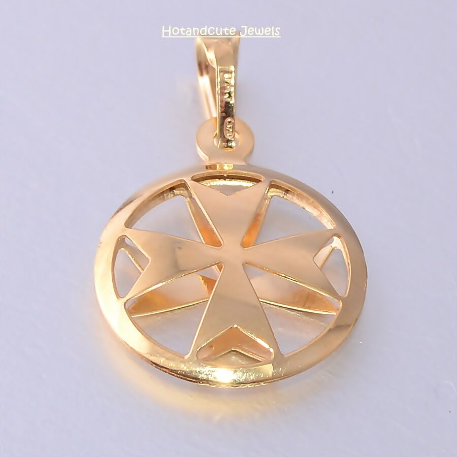 Image Result For Gold Maltese Cross Necklace