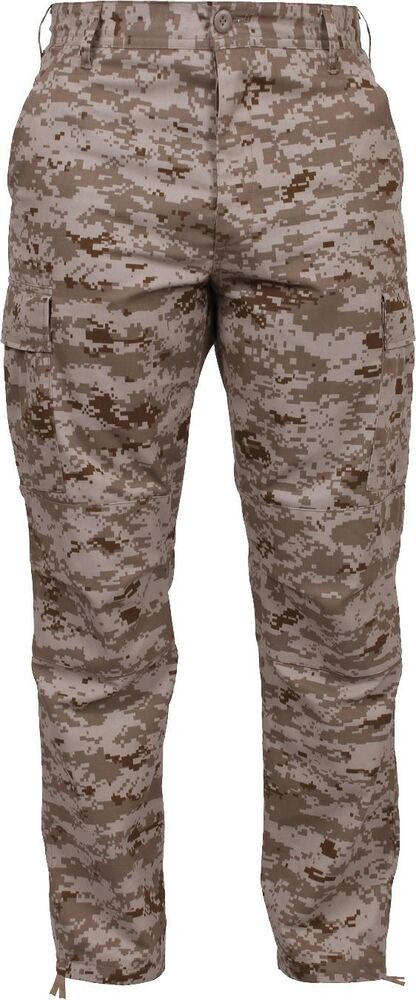 Details about Desert Digital Camouflage Military BDU Cargo Bottoms Fatigue  Trouser Camo Pants 62943ee1f