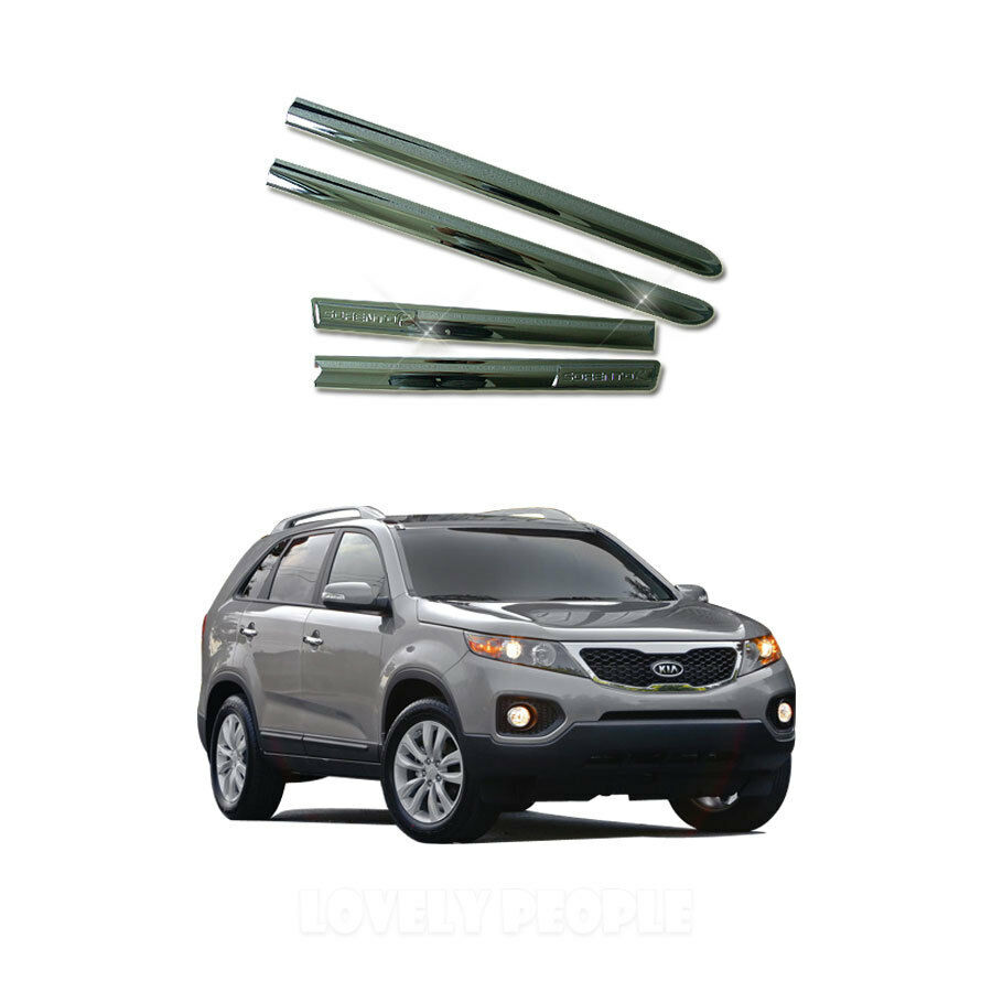 2011 Kia Sorento Accessories: Chrome Side Door Garnish Cover Molding Trim For 2011