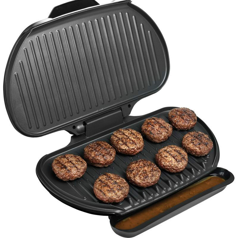 Large Electric Grill ~ George foreman sq in family size electric grill