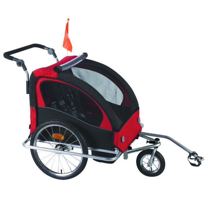 3 in 1 Child Bicycle Trailer Stroller Baby Bike Kid Jogger ...