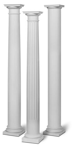 Column And Post 14 X 10 39 Round Smooth Split Fit