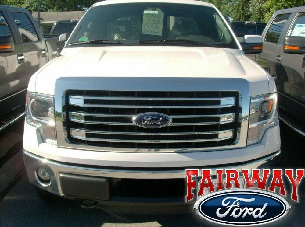 2009 thru 2014 f 150 oem genuine ford parts chrome lariat. Black Bedroom Furniture Sets. Home Design Ideas