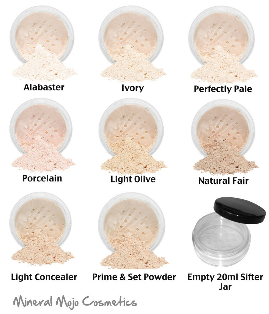 Sof Bare Skin Mineral Foundation Full Cover Makeup Light