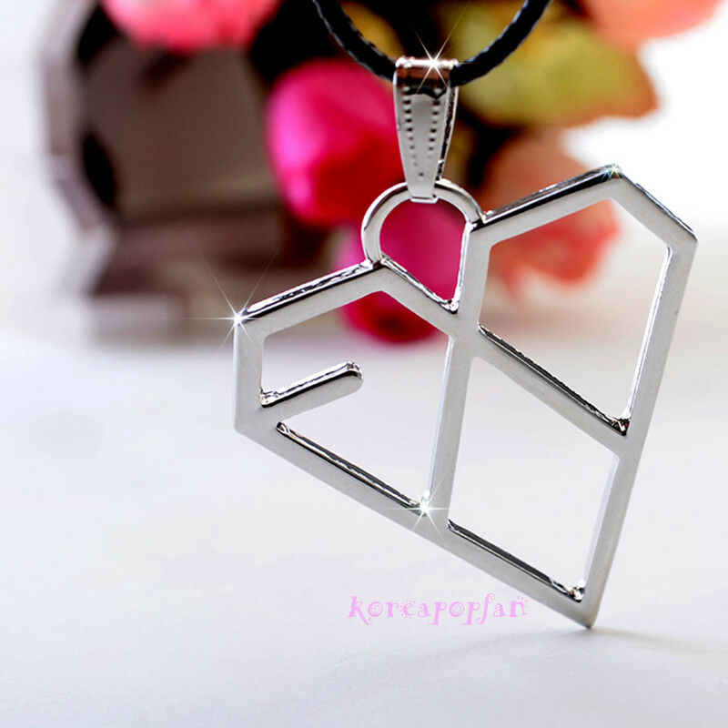 EXO-K EXO XOXO FIRST YEAR WOLF KPOP GOODS ALLOY NECKLACE ...