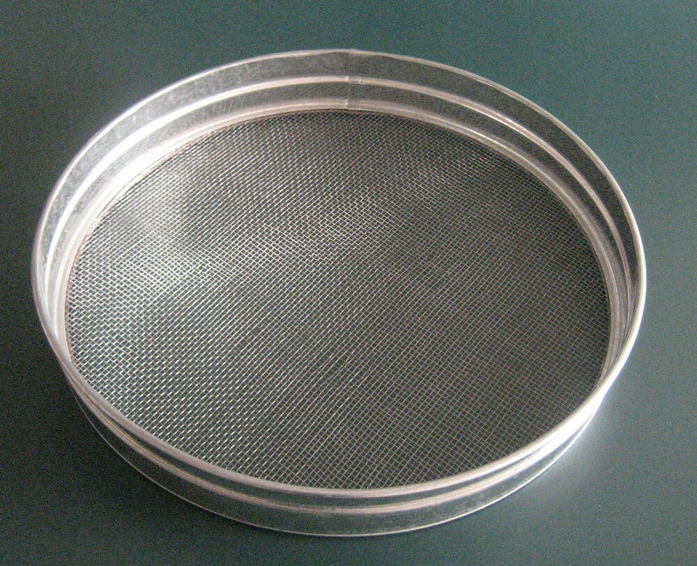 "15"" METAL GARDEN RIDDLE SIEVE 4mm MESH HOLE SIZE – COMPOST ..."