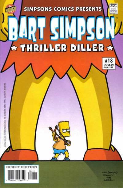 bart simpson book review