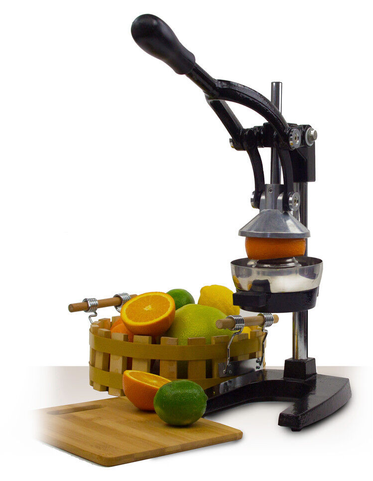 heavy duty press orange comercial manual citrus juicer juice extractor white new ebay. Black Bedroom Furniture Sets. Home Design Ideas