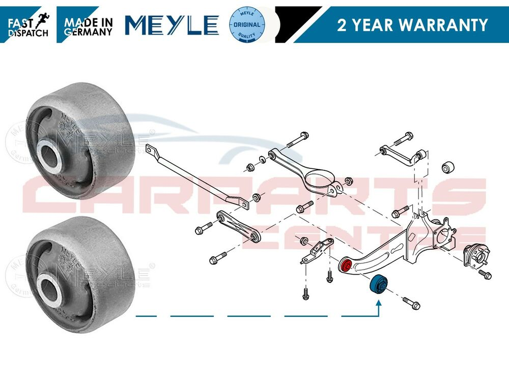 For Jaguar X Type Rear Trailing Suspension Control Arm