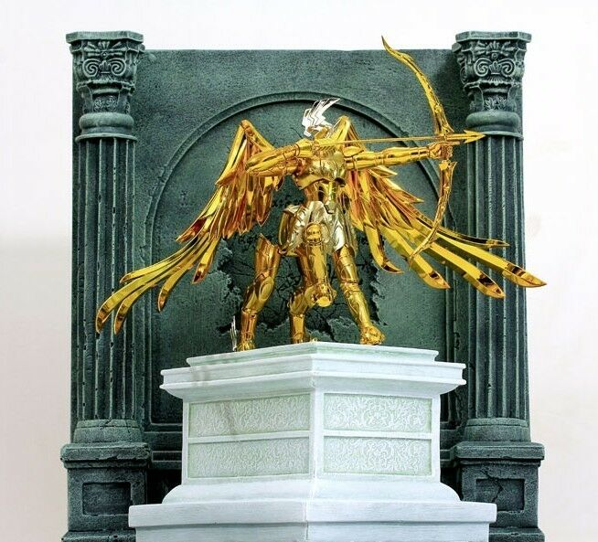altar decoration with cloth seiya diorama decoration stand altar ex sagittarius 10339