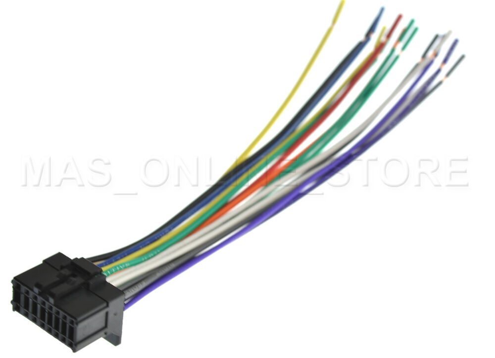 wire harness for pioneer avic z110bt avicz110bt pay today ships today ebay