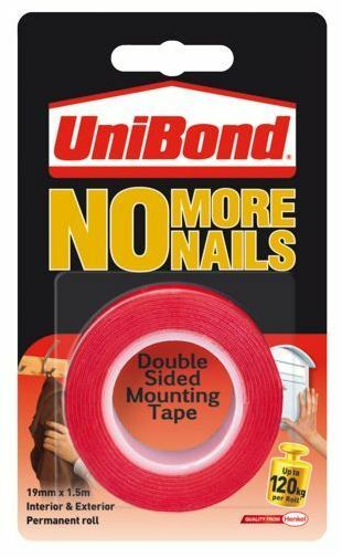 Unibond No More Nails Double Sided Mounting Hanging Tape