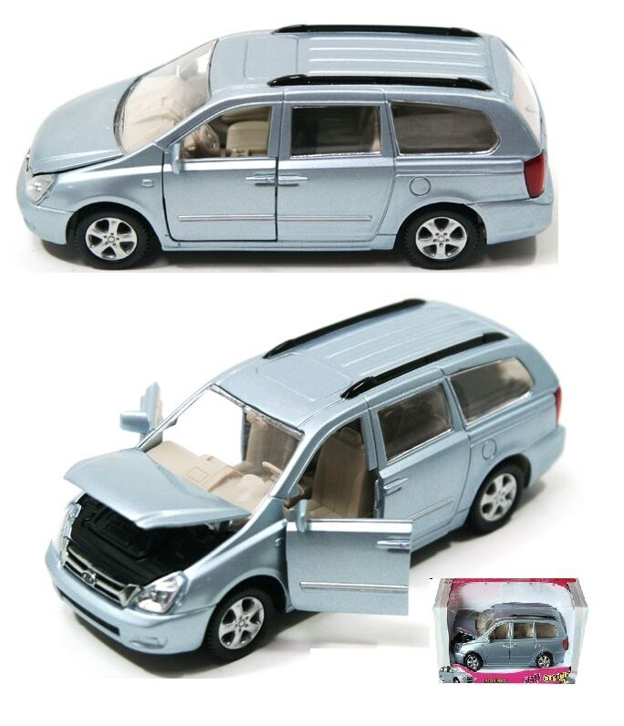 Kia motors sedona grand carnival diecast minicar miniature Grand motors used cars