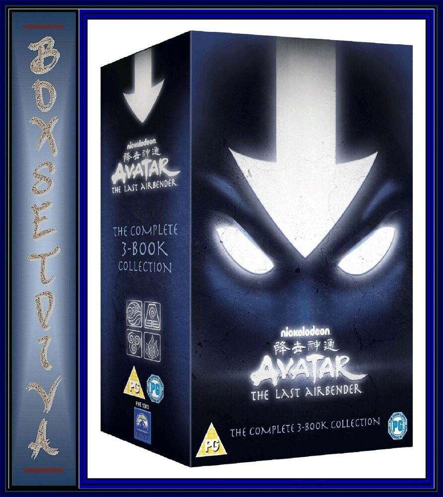 Avatar Dvd: AVATAR: THE LAST AIRBENDER -THE COMPLETE 3 BOOK COLLECTION