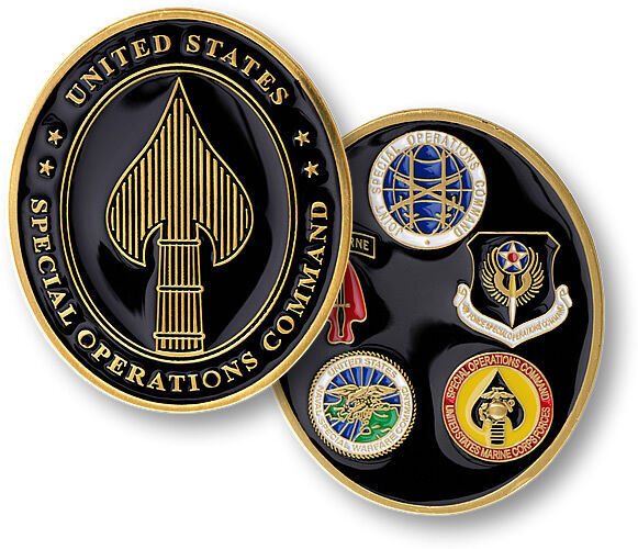 us special operations command challenge coin ussocom oval