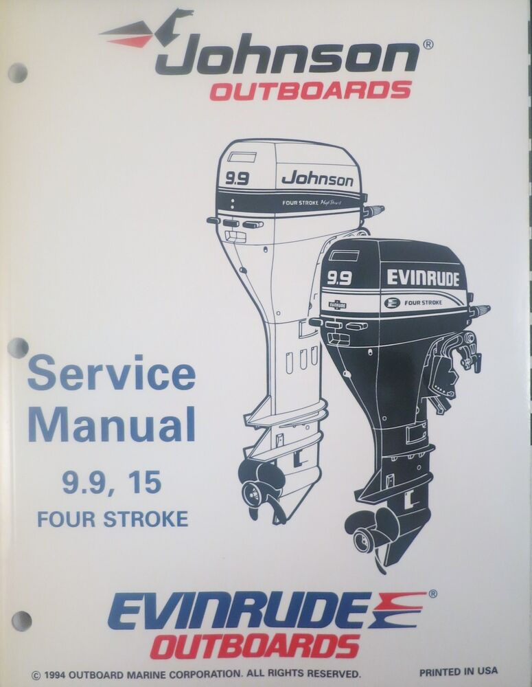 1995 johnson evinrude 9 9 15 hp 4 stroke outboard service. Black Bedroom Furniture Sets. Home Design Ideas
