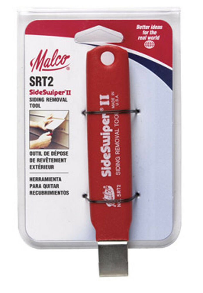 Malco Side Swiper Ii Siding Removal Tool Removes Vinyl And